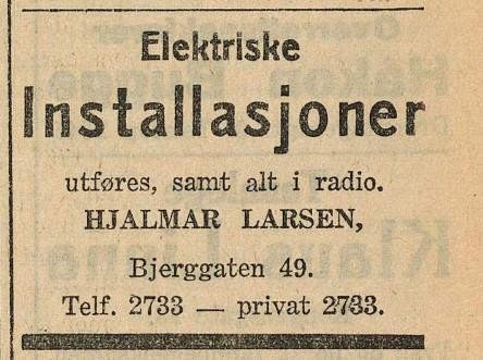 Bilde av Bjerggata 49 / 1933