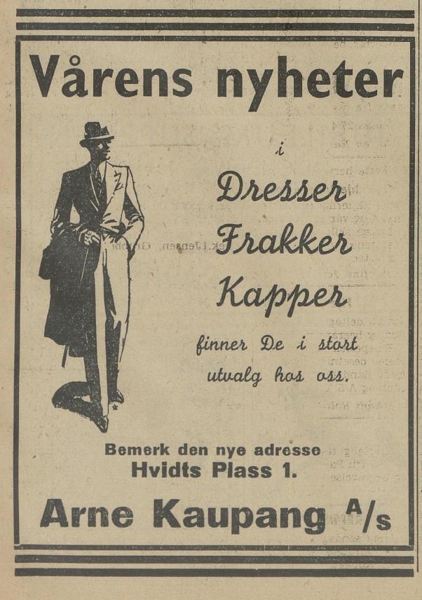 Bilde av Annonse - 1938