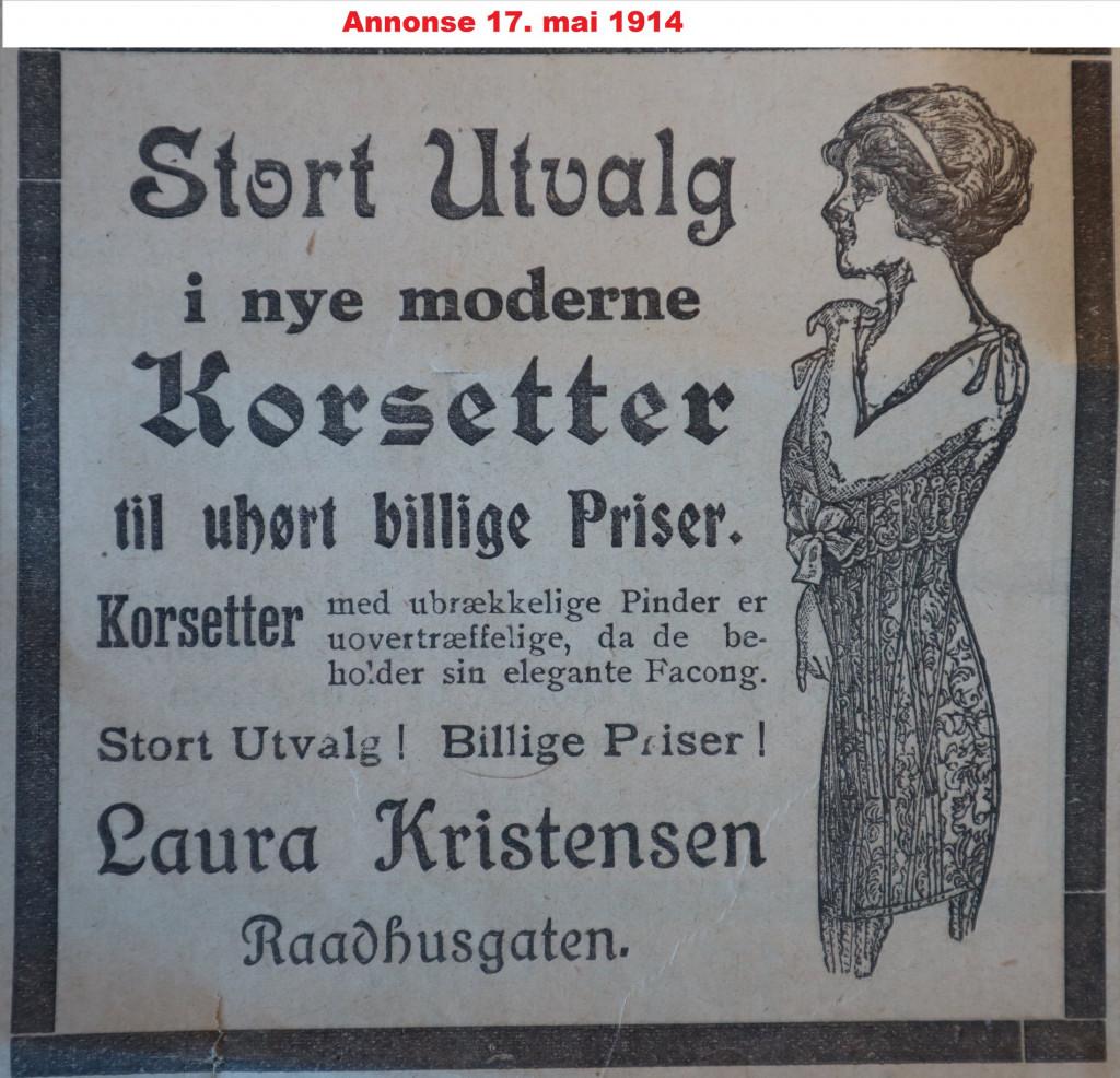 Bilde av Annonse / 1914
