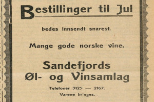 Bilde av Sandefjords Øl- & Vinsamlag A/S