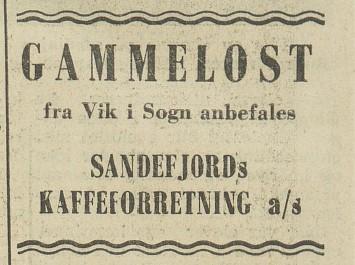 Bilde av Annonse - 1955