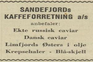 Bilde av Sandefjord Kaffeforretning