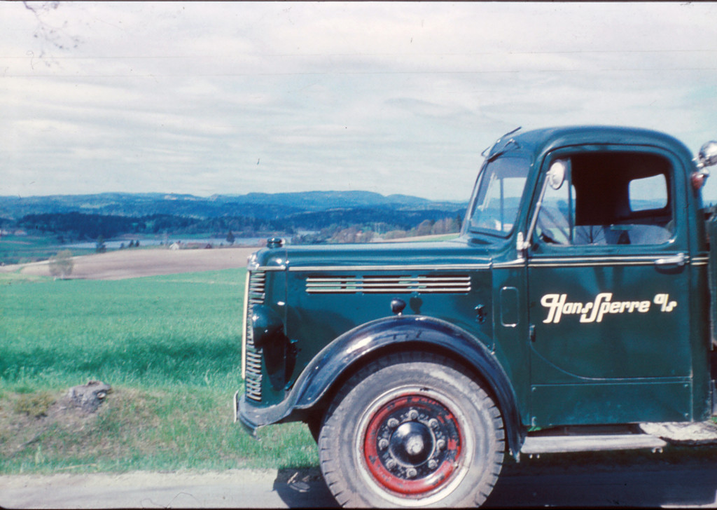 Bilde av Ny lastebil