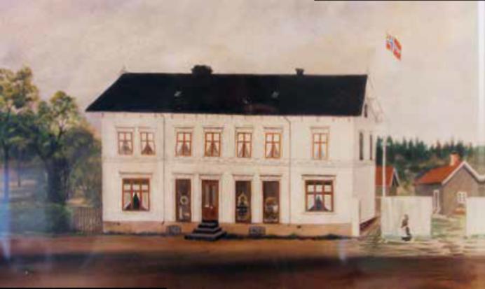 Bilde av Sperregården før 1900