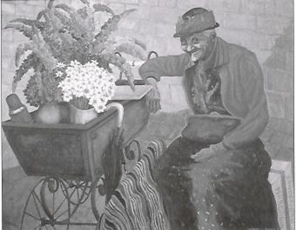 Bilde av Maleri av Hella på Torget