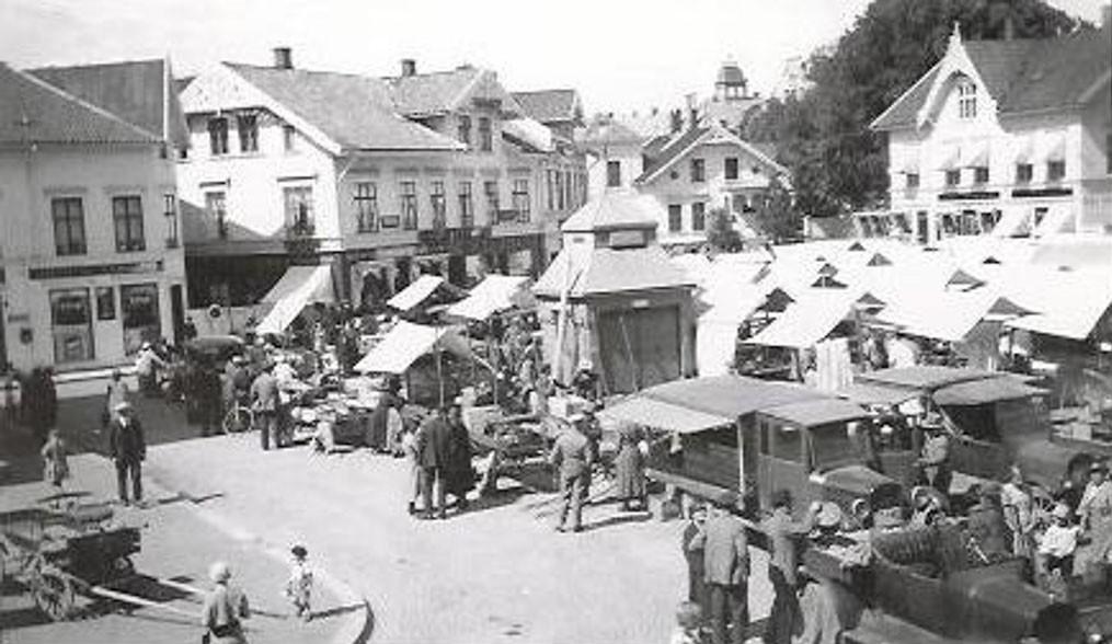 Bilde av Torghandel 1933