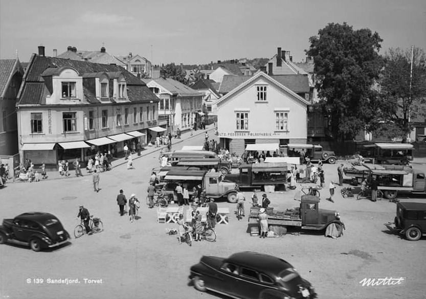 Bilde av Torghandel 1947