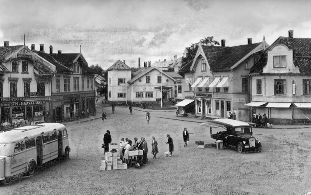 Bilde av Torghandel 1950