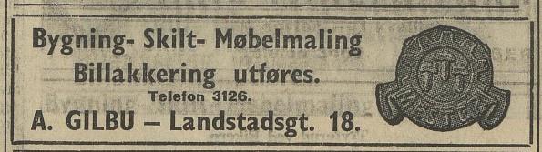Bilde av Annonse 1939