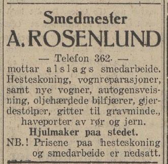 Bilde av Annonse 1930