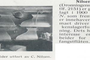 Bilde av Kobber & Blikkenslager C. Nilsen / Dronningens gate 5