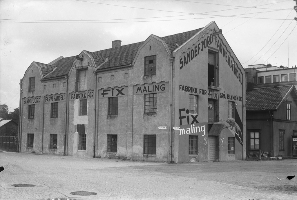 Bilde av Fabrikken på brygga