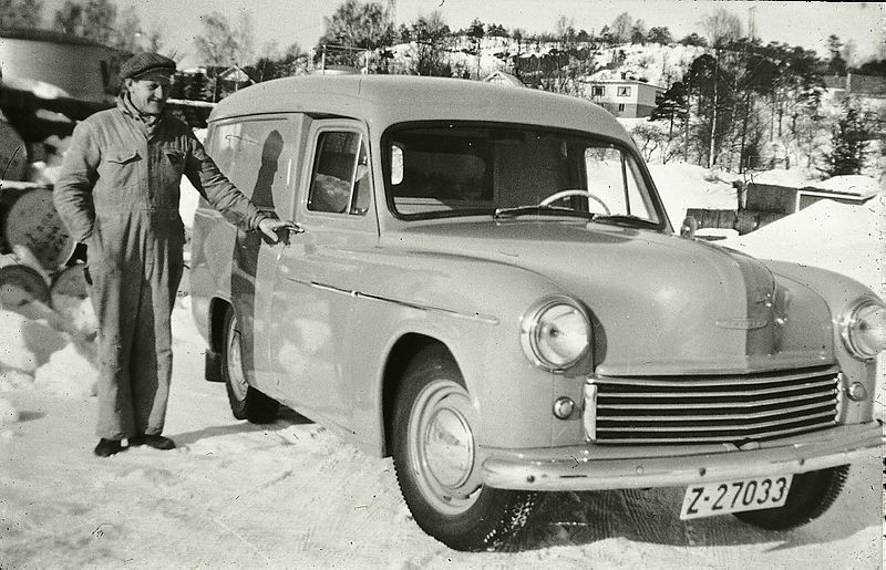 Bilde av Commer Express Delivery Van. 1950
