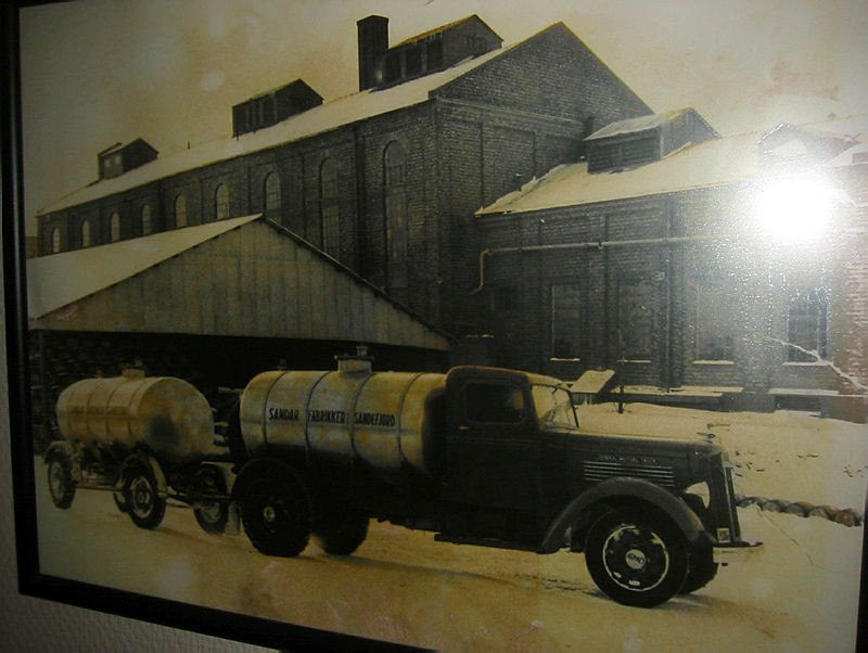 Bilde av En førkrigsmodell Reo. I 1950 var nok dette et stort