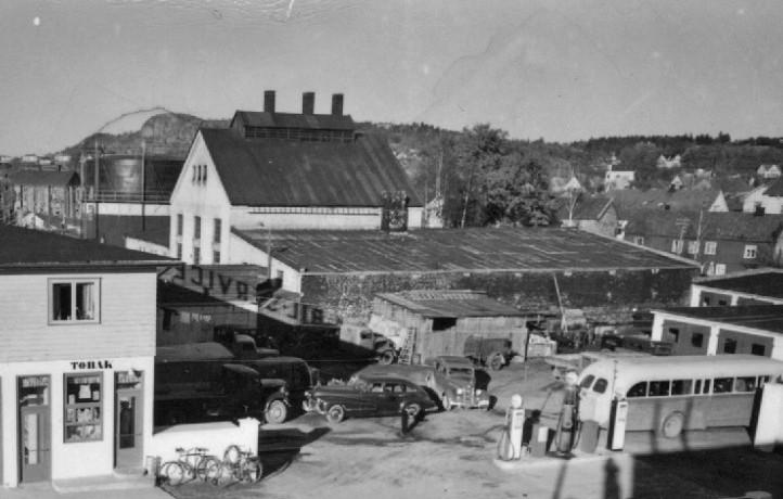 Bilde av Gassverket fra en annen vinkel