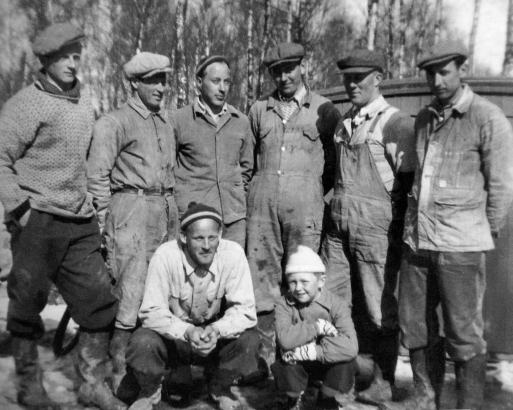 Bilde av Lagertomta på Botten i 1952