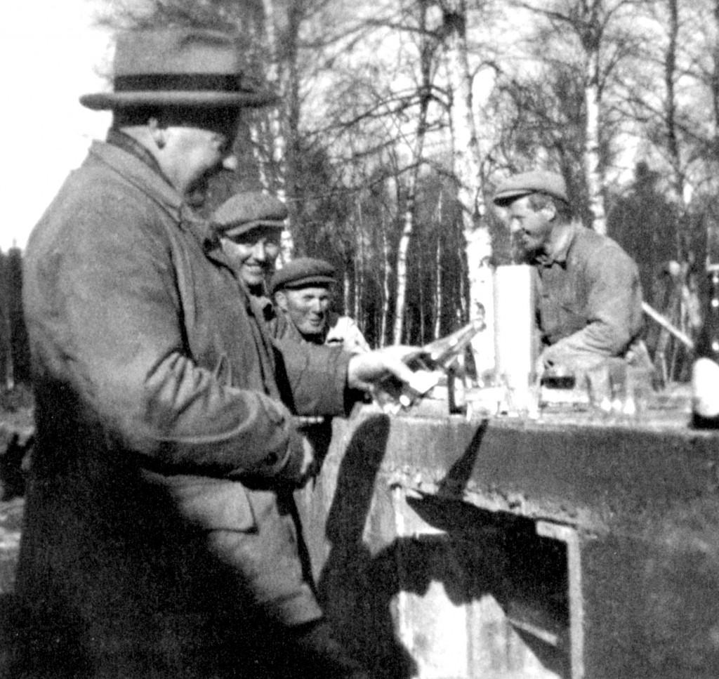 Bilde av Besøk av sjefen