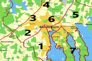 Bilde av Sone 5: Gokstad, Unneberg, Råstad m.m.