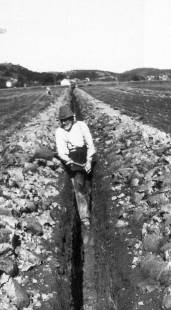 Bilde av Grøftegraving