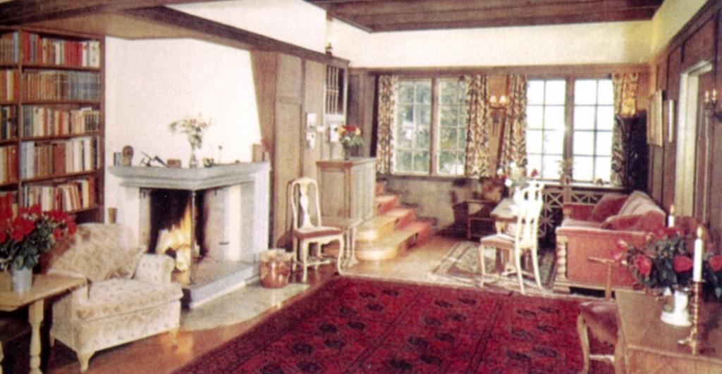 Bilde av Interiør fra Bettums tid
