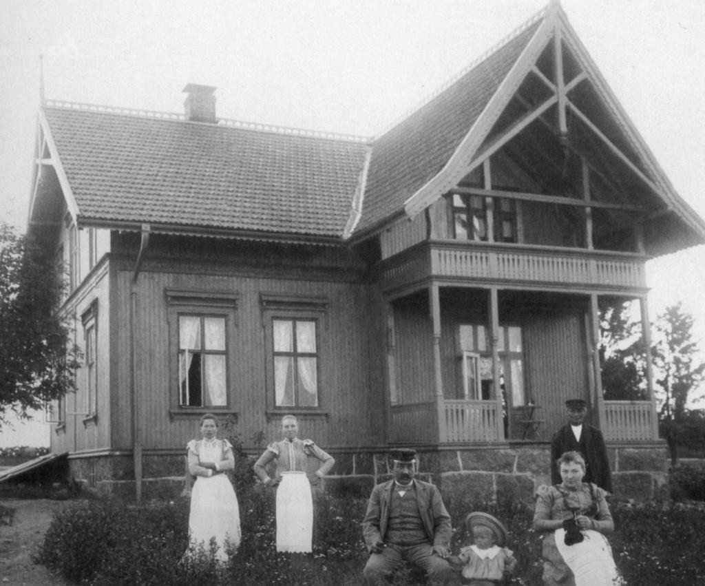 Bilde av Familien Abrahamsen