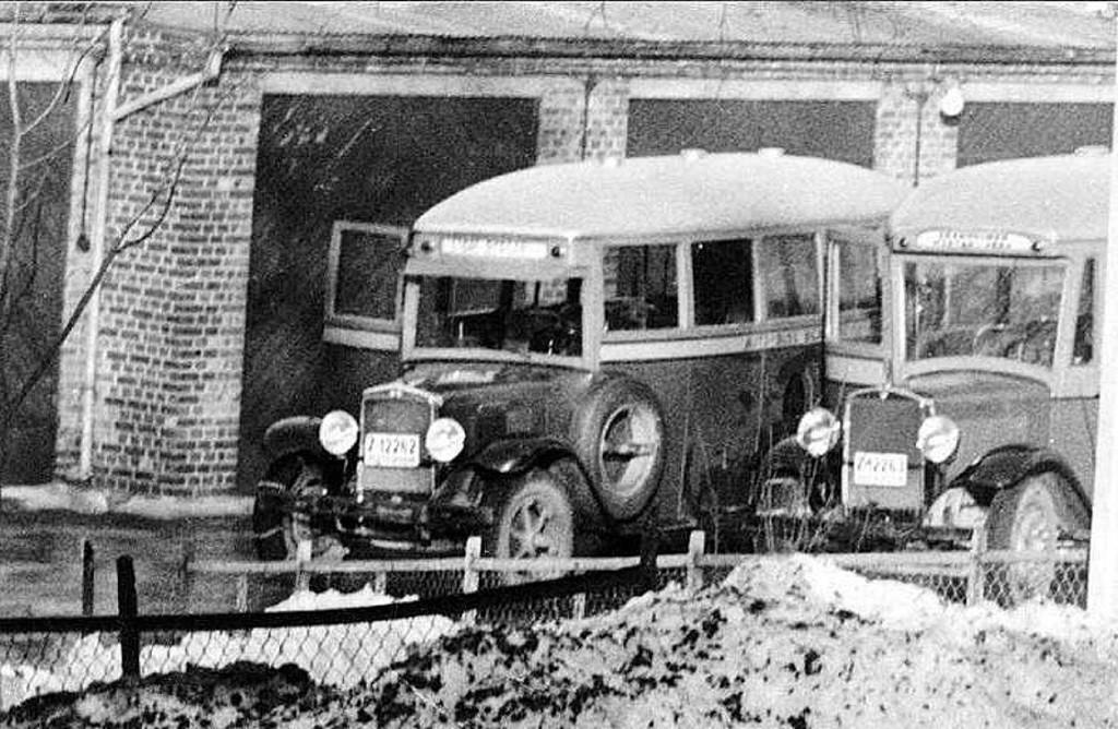 Bilde av Busser av eldre årgang.