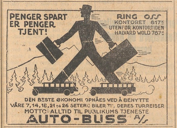 Bilde av Annonse 1929