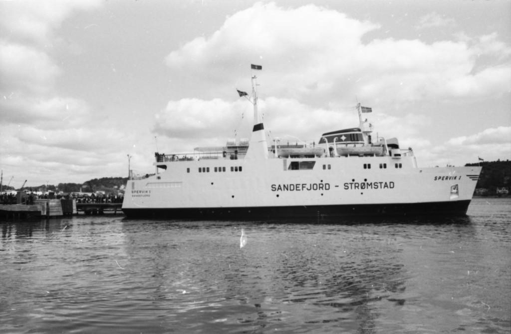 Bilde av 1964 - Sandefjord havn