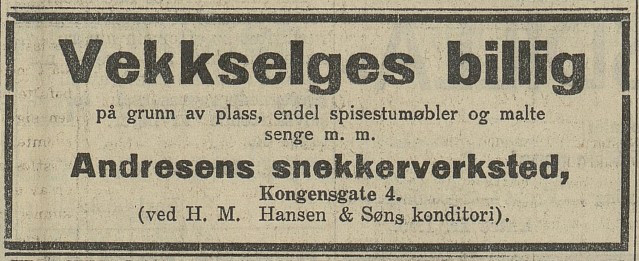Bilde av 1936 - annonse
