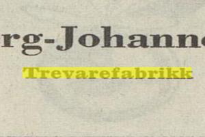 Bilde av M. Sølberg Johannessens Trevarefabrikk / Torggata