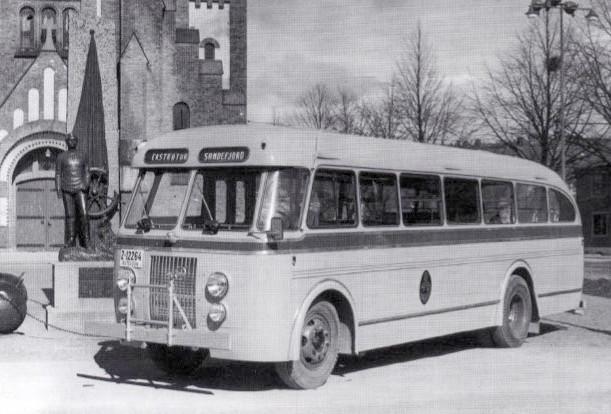 Bilde av Ny buss i 1958