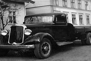 Bilde av Hvem hadde denne lastebilen ?