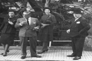 Bilde av Onassis på besøk hos Anders Jahre
