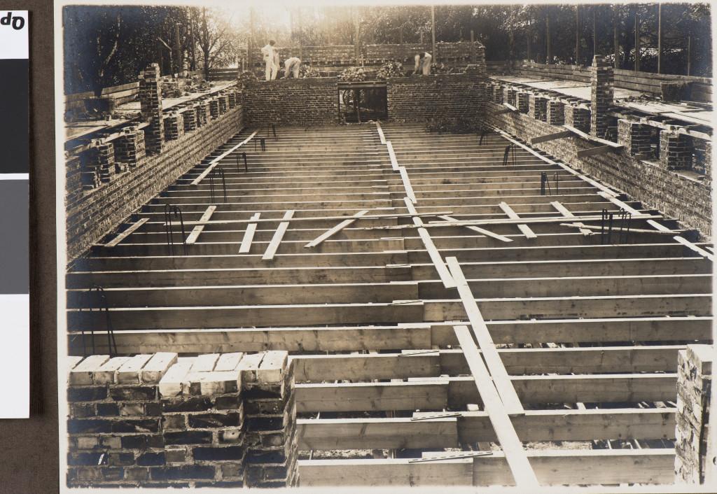 Bilde av Hvalfangstmuseet bygges