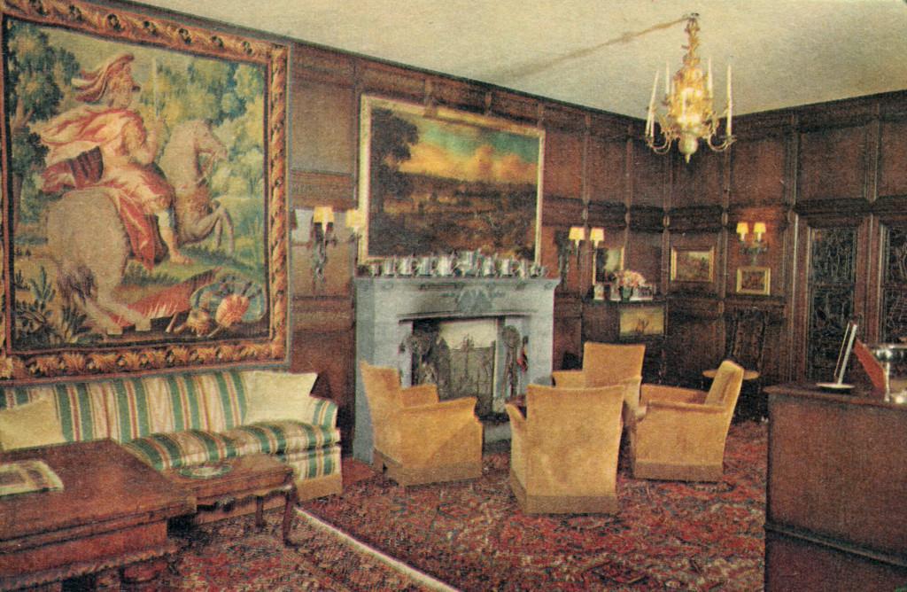 Bilde av Peisen i hallen