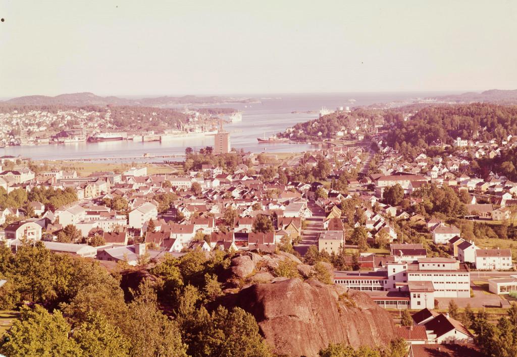Bilde av Utsikt fra Mokollen mot syd