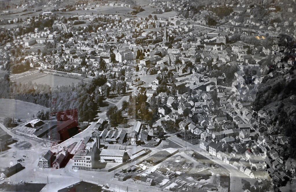 Bilde av Byen fra sørøst