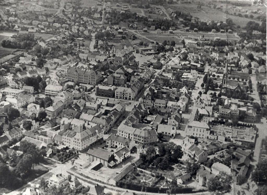 Bilde av Byen fra øst