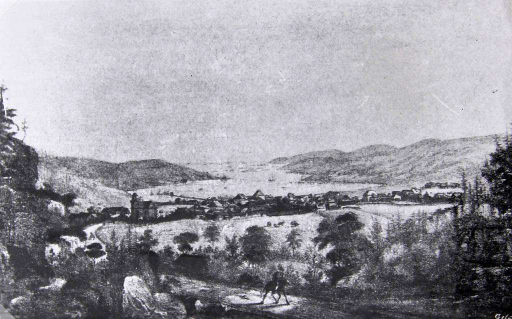 Bilde av Ladestedet Sandefjord 1835