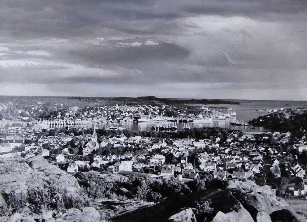 Bilde av Utsikt fra Mokollen 1939
