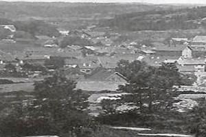 Bilde av Byen sett fra Hauan