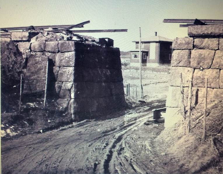 Bilde av Sabotasje Stuen undergang 14. mars 1945 - operasjon Betongblanding