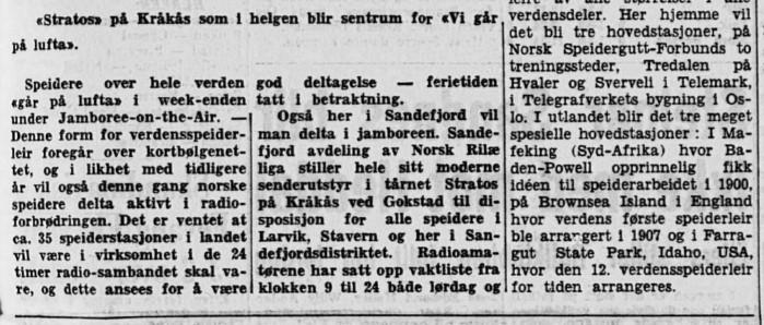 Bilde av Kråkås inviterer speidere