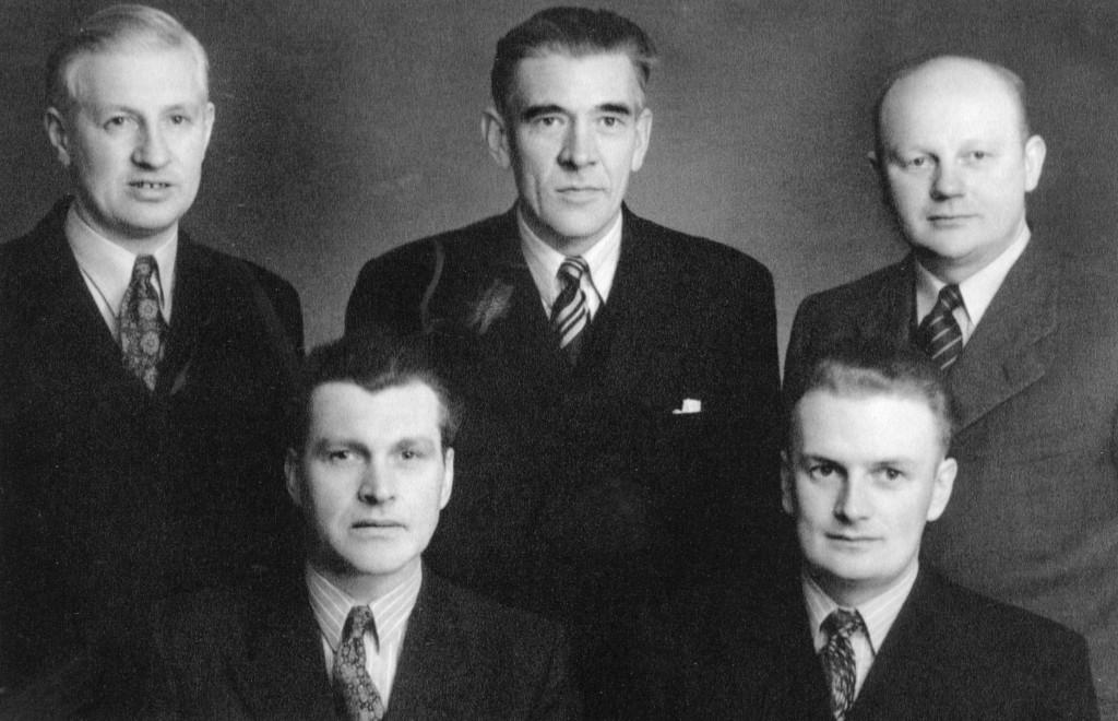 Bilde av Styret 1949