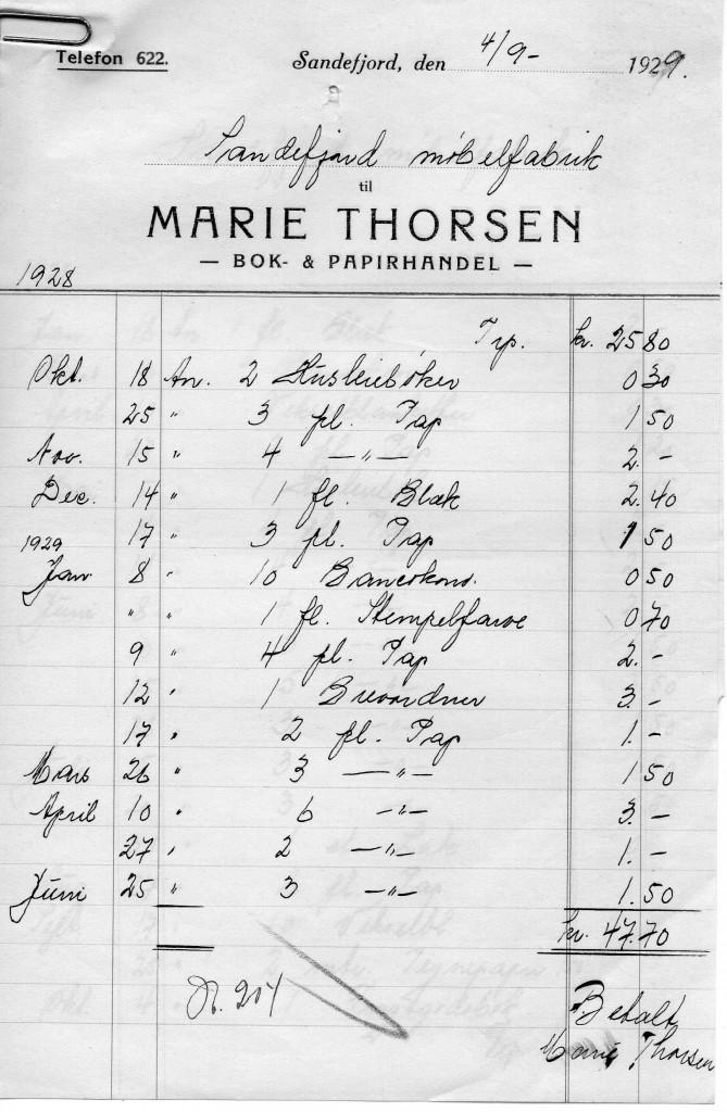 Bilde av Marie Thorsen, Bok & Papirhandel