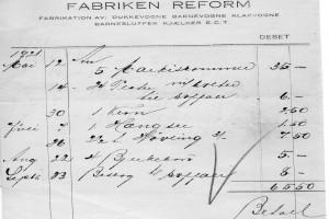 Bilde av Kvittering Reform