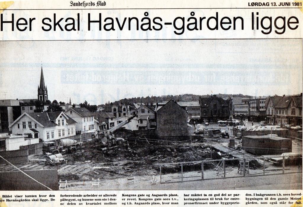 Bilde av Artikkel i Sandefjords Blad