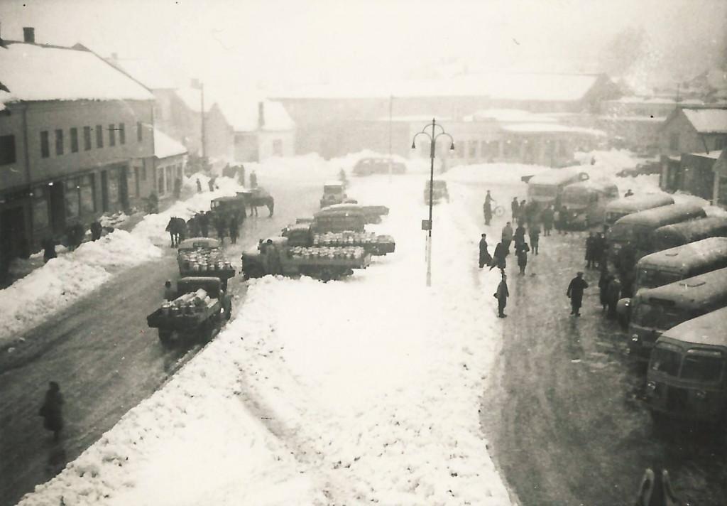 Bilde av Vinter på Aagaards plass
