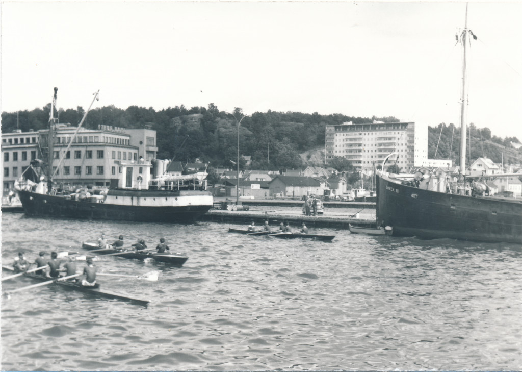 Bilde av Kapproing i indre havn