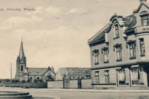 Bilde av Fontenen på Chr. Hvidts Plass